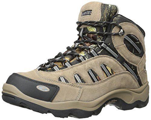 Hi-Tec Men& Bandera Mid Waterproof Hiking Boot, Camo, 8 .