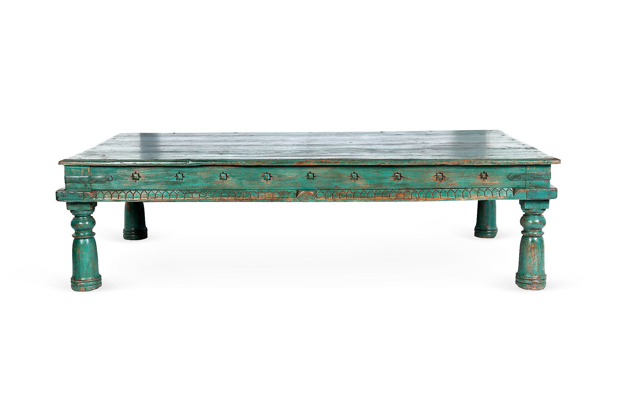 - Starburst Green Coffee Table On One Kings Lane Today Green