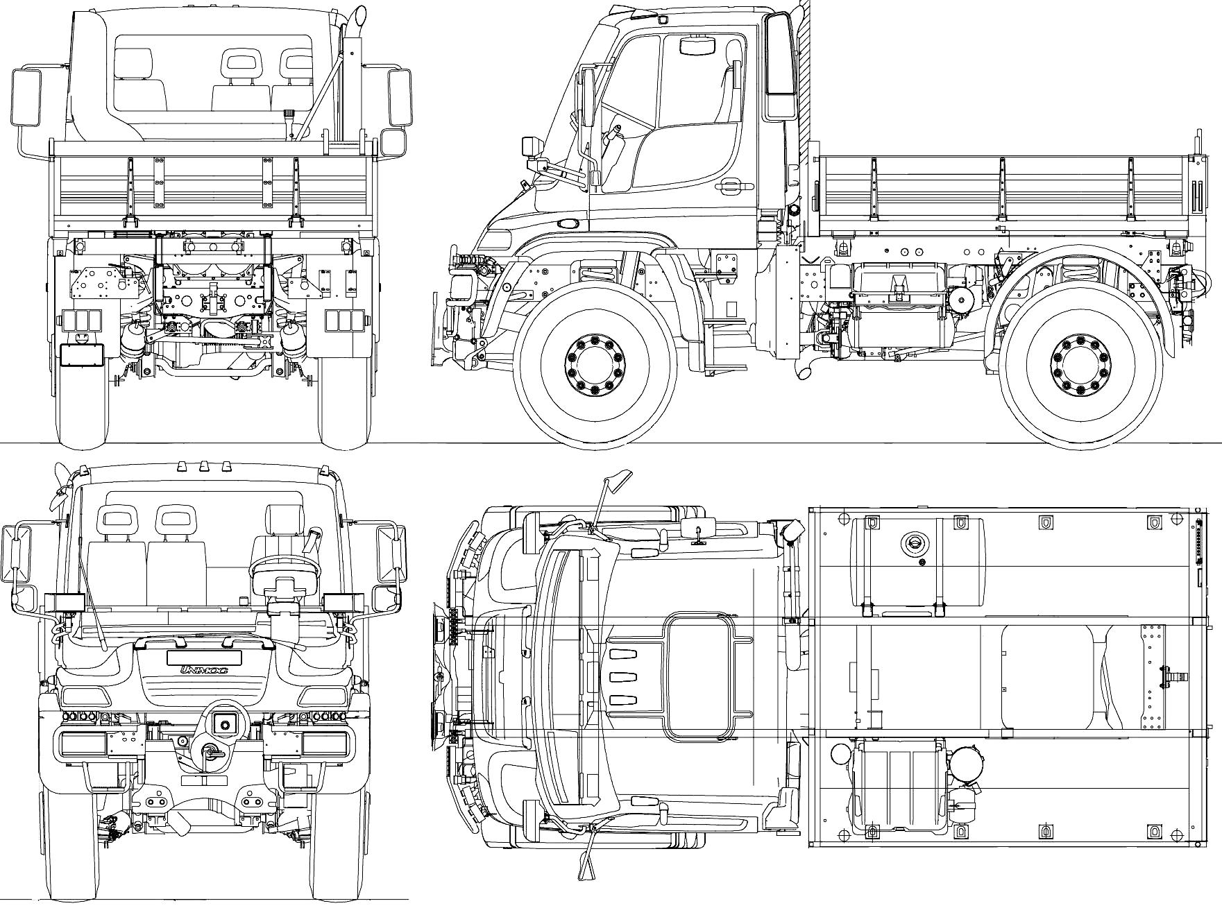 unimog coloring pages | Unimog U500 drawing | Mercedes benz unimog, Mercedes benz ...