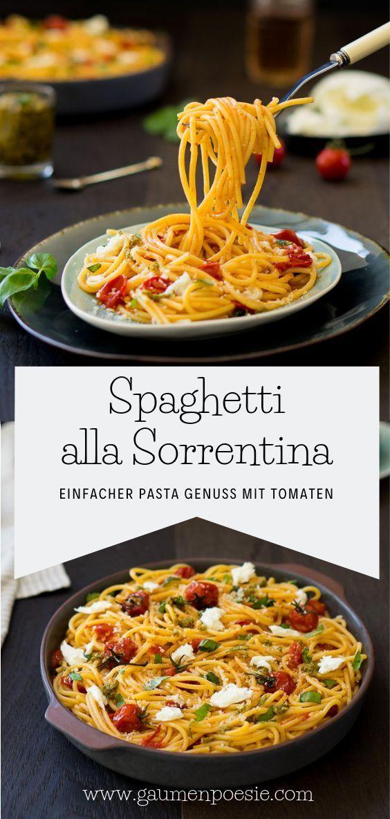 Sensationell Leckere Spaghetti Wie In Italien Einfaches Rezept Mit Wenig Zutaten Everyone Has An Idea And Experien In 2020 Lecker Kochen Rezepte Einfache Gerichte