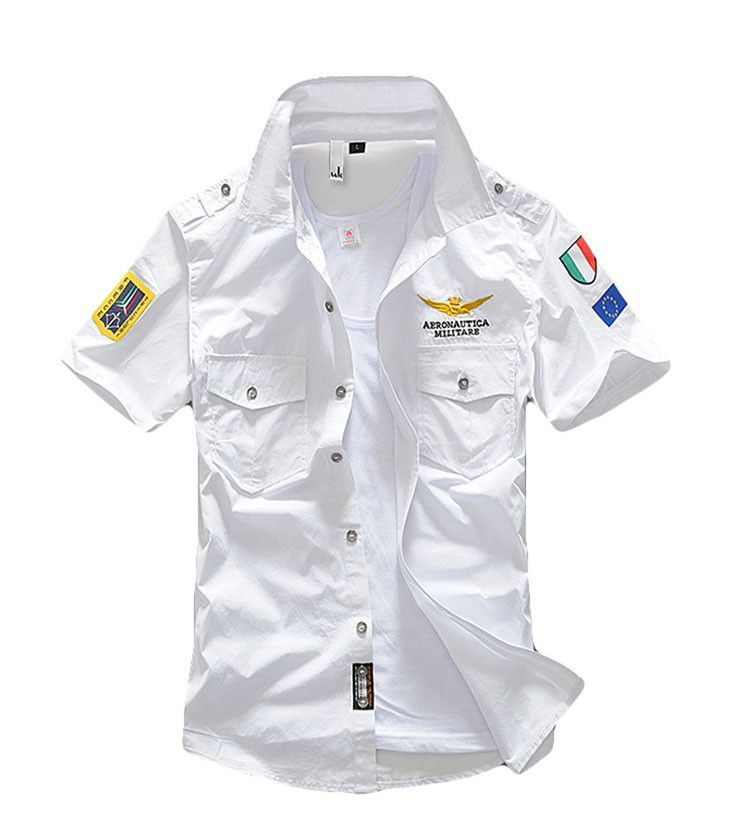 6cc6d068 Mr. Young 2016 New Design Aeronautica Military Air Force One Men Brand  Shirts Shirts Plane Pilots Men Casual Embroidery Shirts