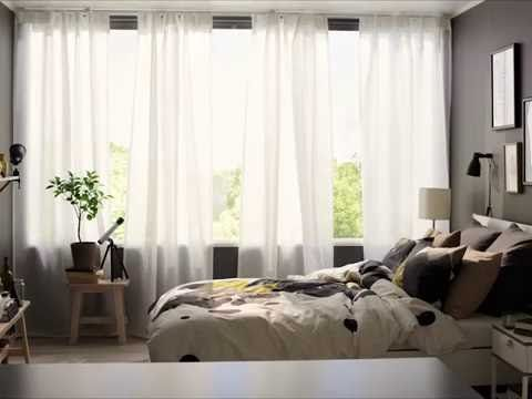 Vidga Curtain Rail System Youtube Ikea Panel Curtains Top Interior Design Firms Home Decor