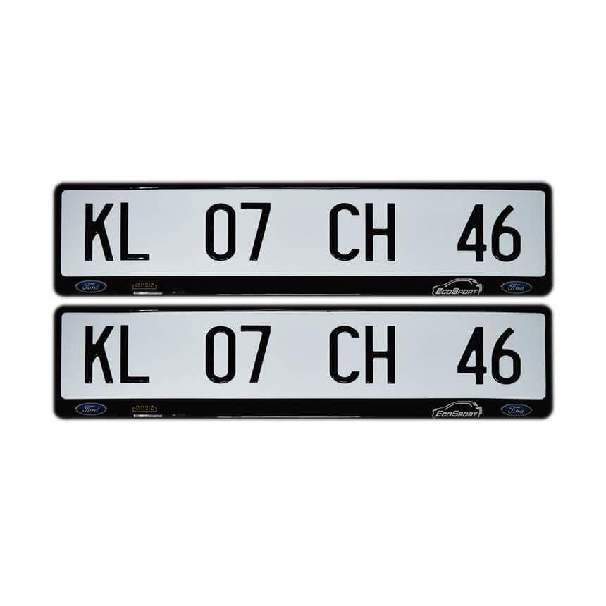 Dubai Gel Number Plate Gel Number Plates Number Plate