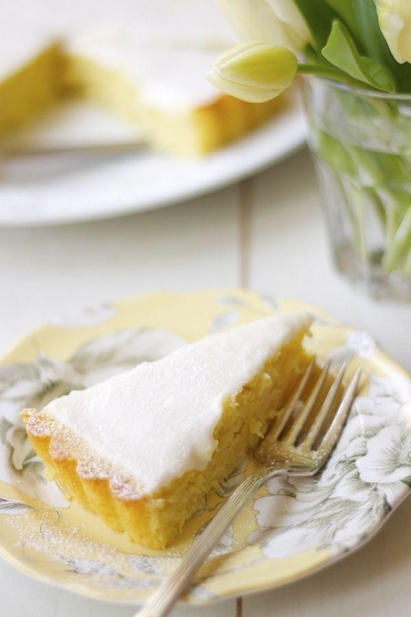 Lemon, Olive Oil & Ricotta Cake with Lemon Glaze