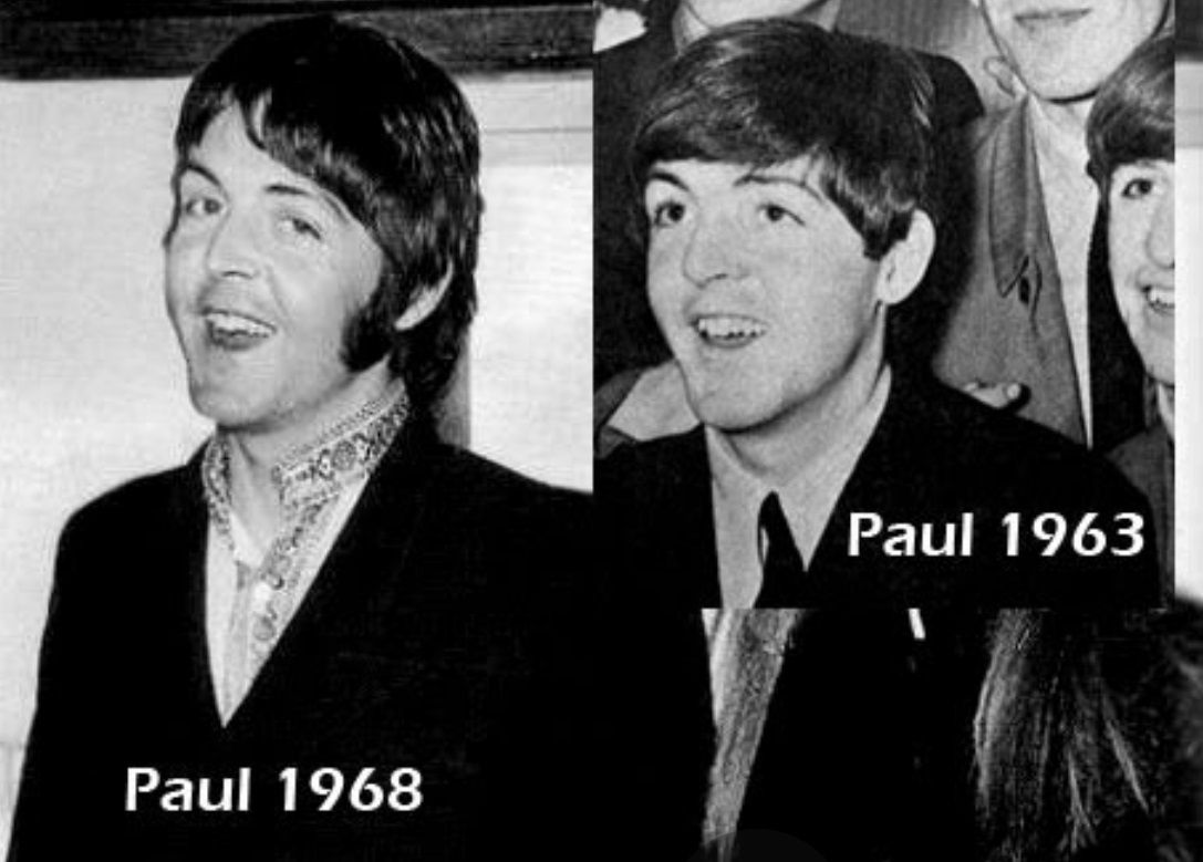Paul 21 In 1963 And 5 Yrs Later 26 1968