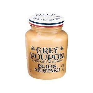 Grey Poupon Dijon Mustard, 8 Oz (Pack of 6). Great with meat, poultry, and vegetables