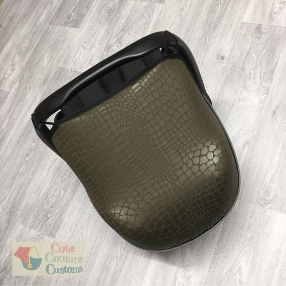Jurassic Car Seat Hood Green Carseat Cover Made To Fit