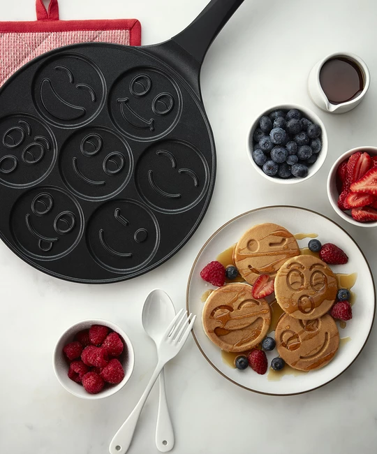 Emoji Pancake Pan Pancake Pan Fun Cooking Savoury Dishes