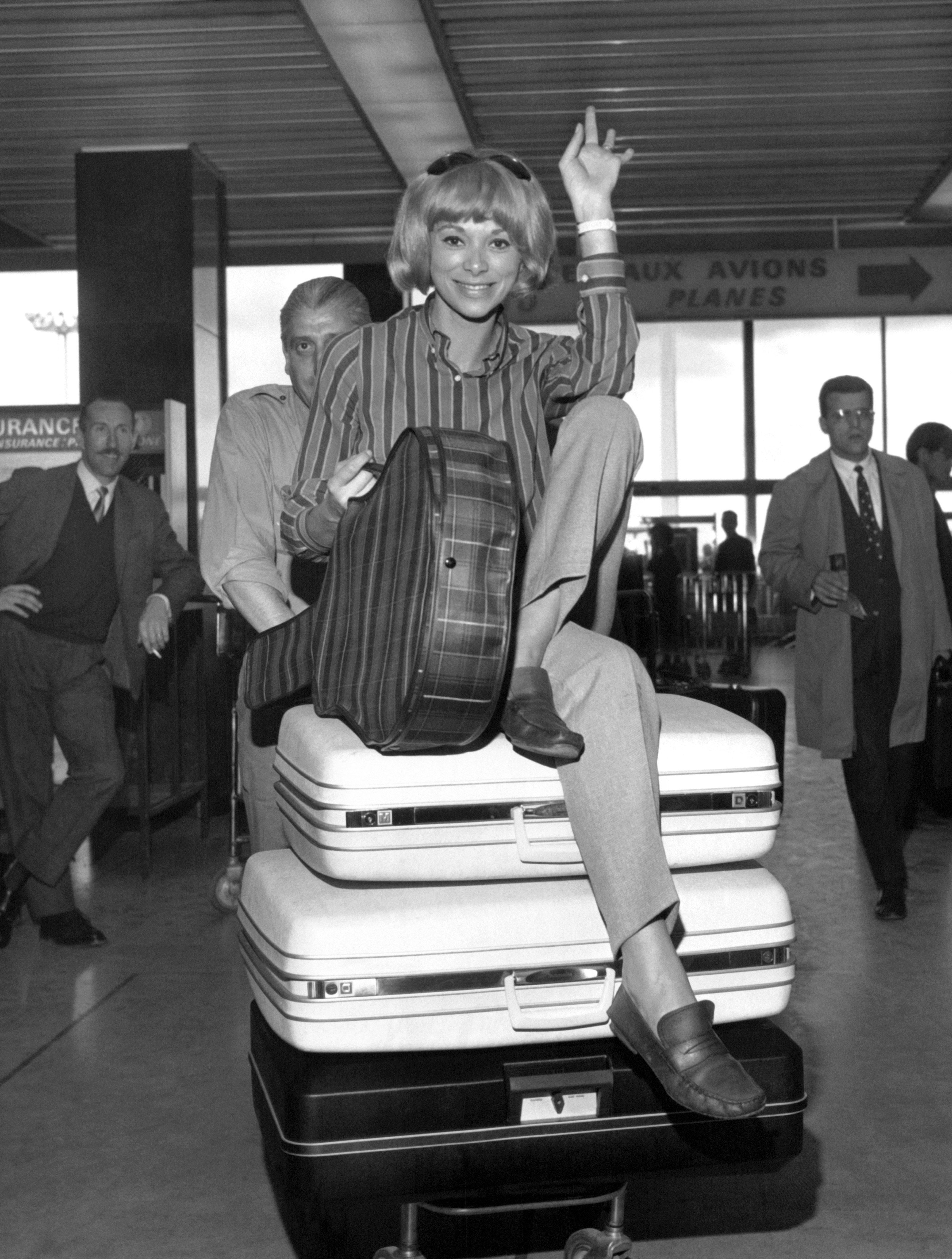 A Look Back at the Late Mireille Darc, One of the Great Blonde French Sex Icons Photos | W Magazine