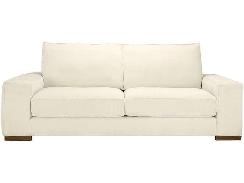 Canape Droit 3 Places En Tissu Gaspard Coloris Beige Pas Cher Canape Conforama Bon Shopping Com Home Decor Decor Furniture