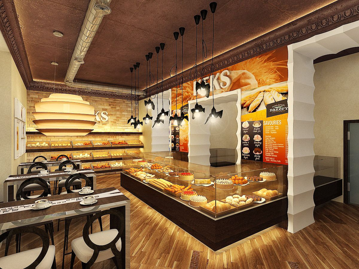 Amazing Modern Bakery Design Ideas
