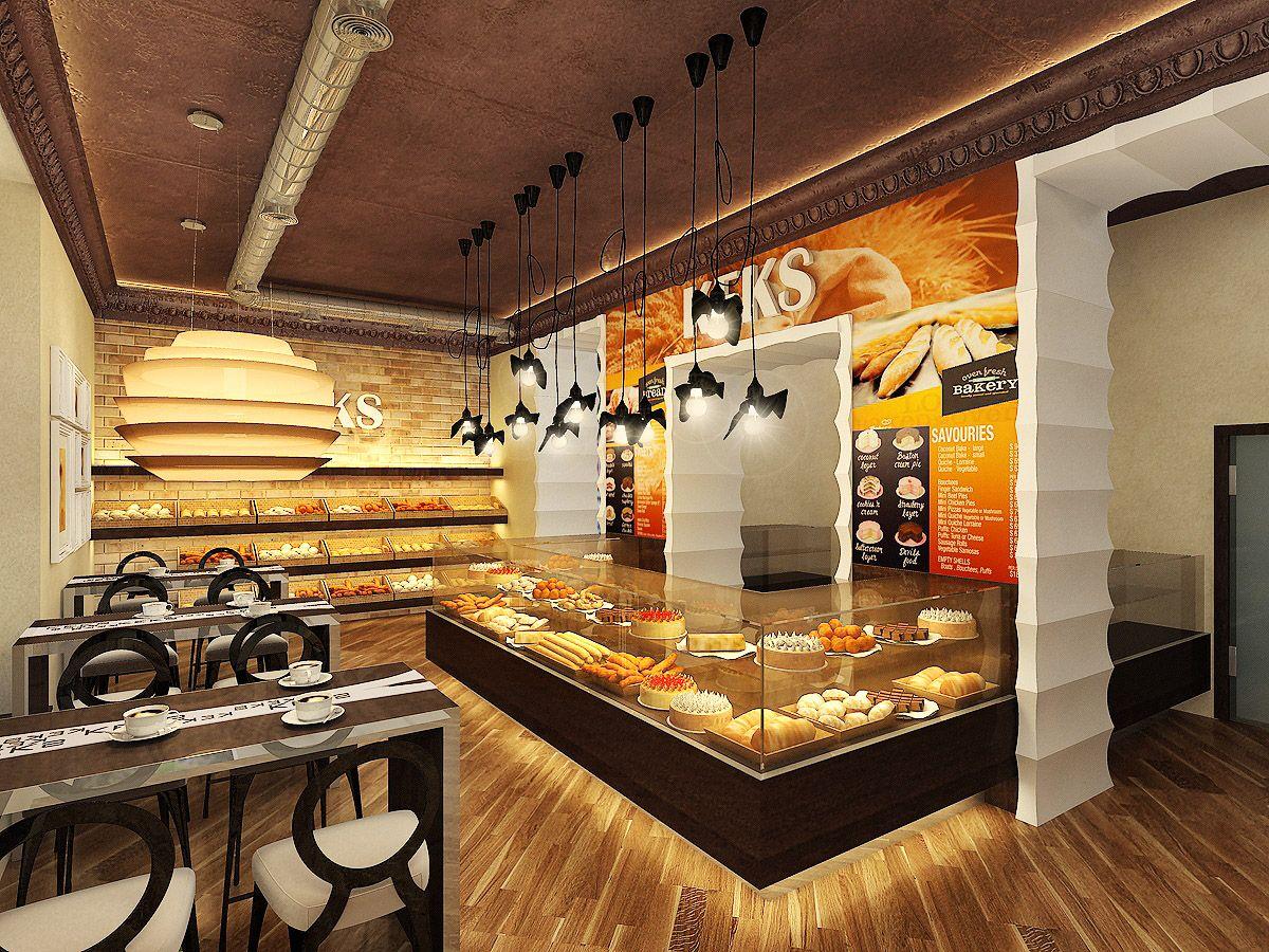 Bakery Shop Interior Design