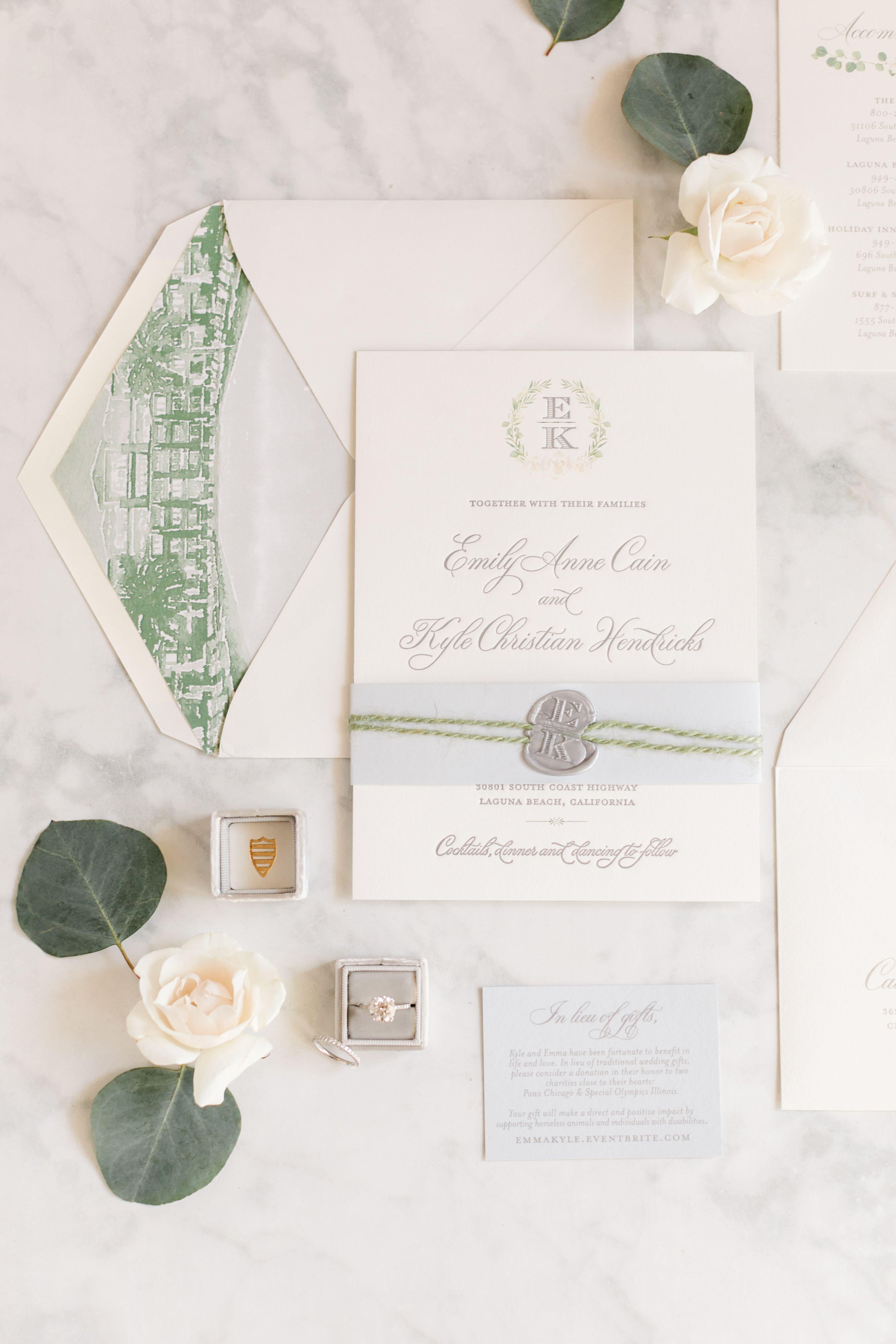 Greenery Inspired Beachside Wedding ⋆ Nico and Lala | Wedding ...