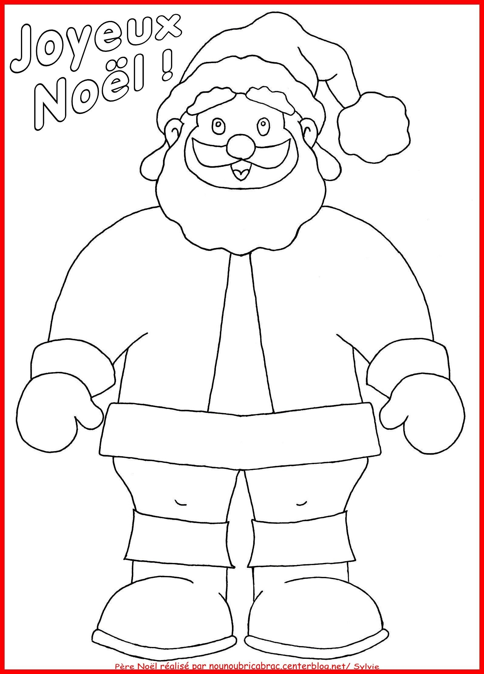 P re no l un coloriage gabarit pinterest p re for Puzzle a colorier gratuit