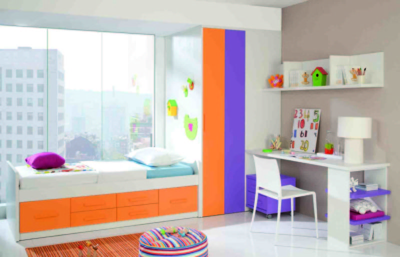 Modern Furniture Kids kids black bedroom furniture - creditrestore