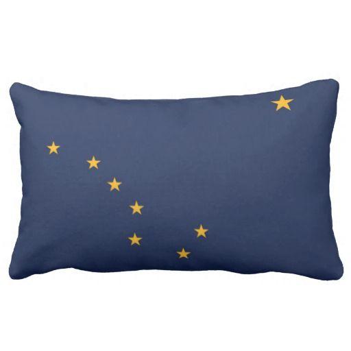 State Flag Of Alaska (USA) Throw Pillow
