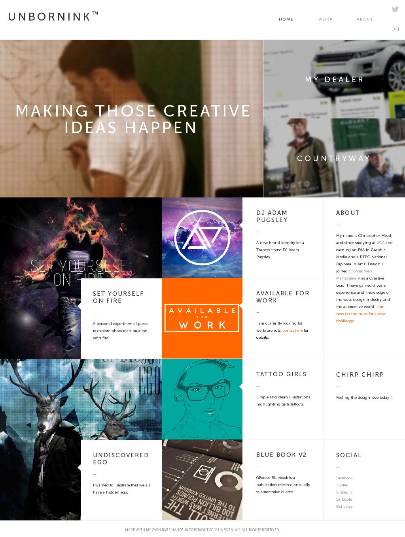 Www Unbornink Com Web Design Interactive Design Web Design Inspiration