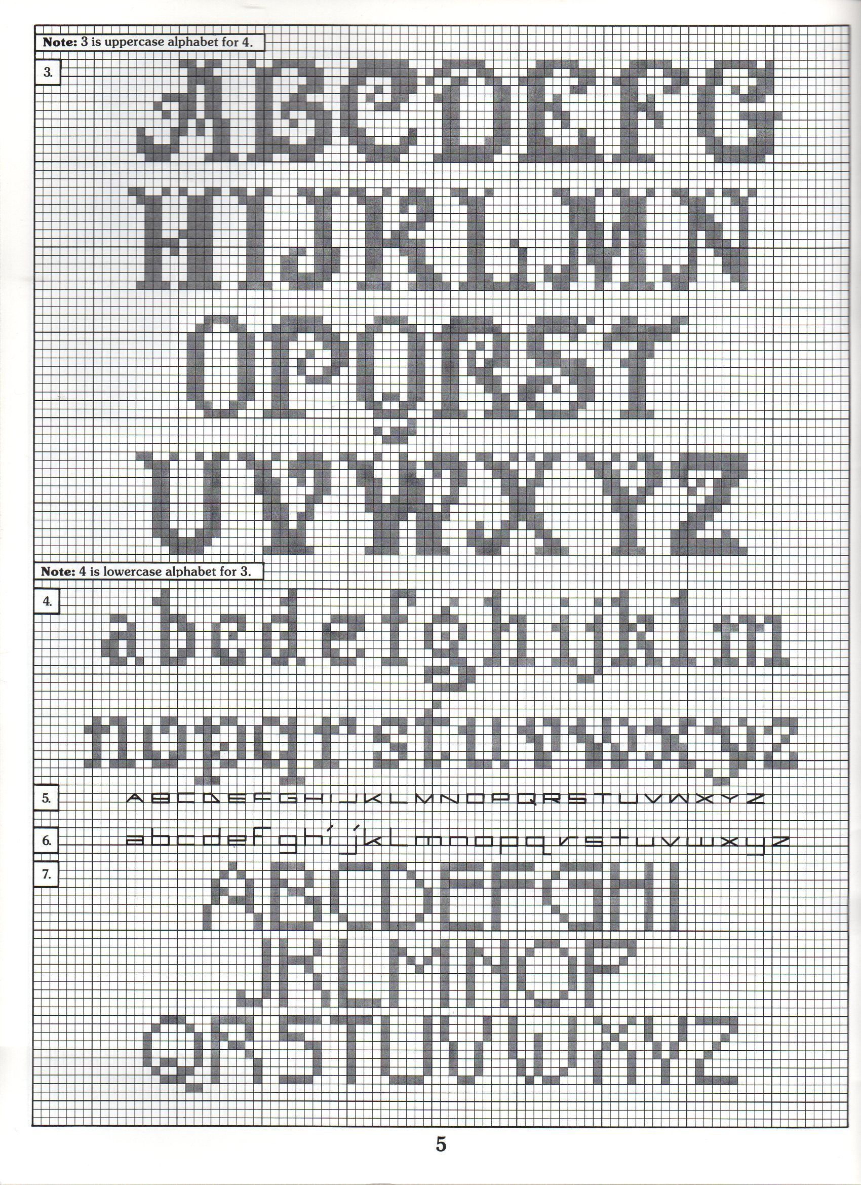 Cross Stitch Alphabet Patterns Cool Decorating Ideas