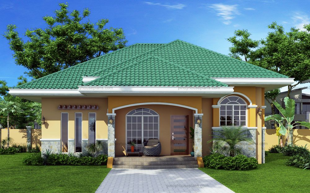 Elevated bungalow house plan is marcela model with 3 for Elevated bungalow house plans