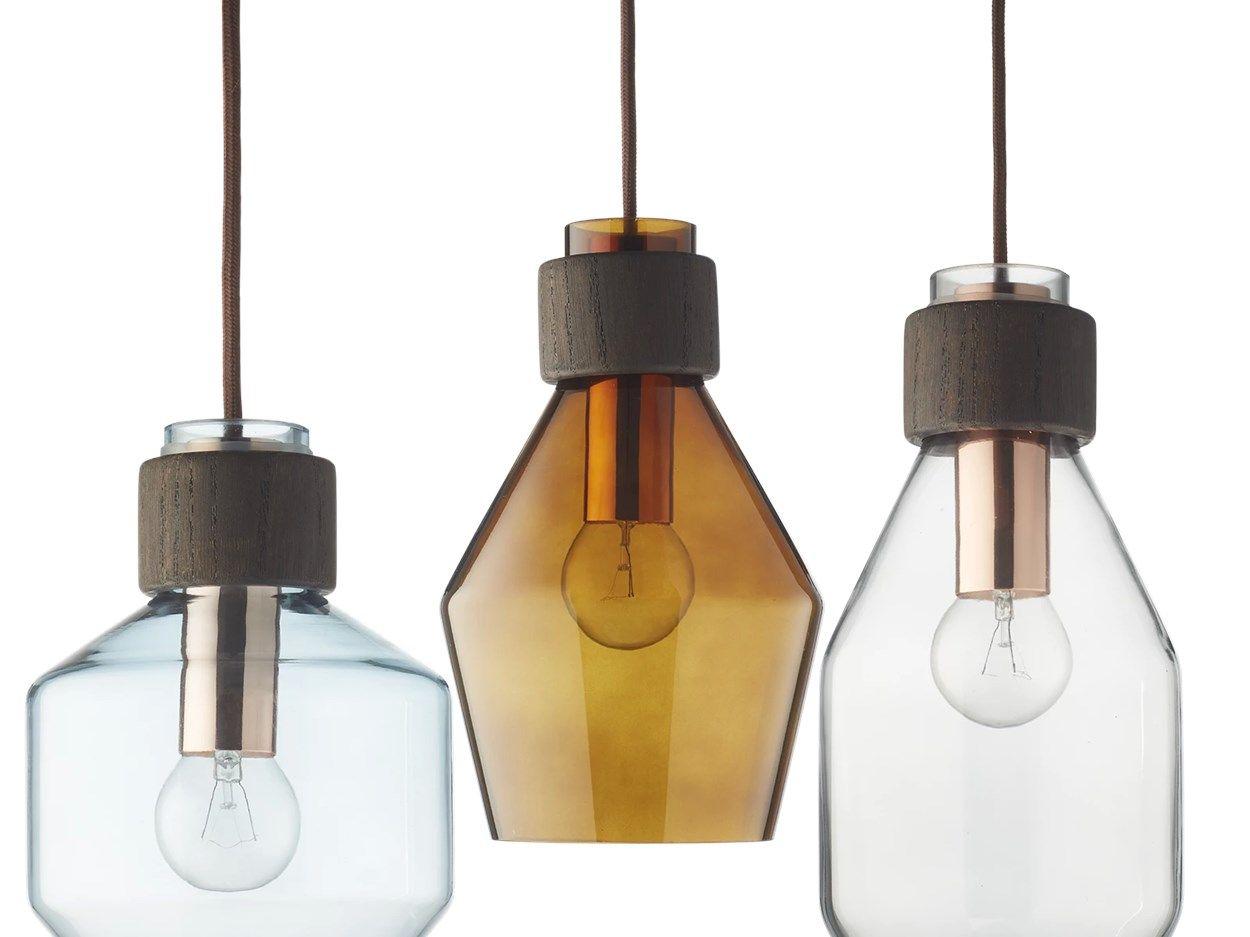 Vetro Pendel Tall Pendel Lampe Lysdesign