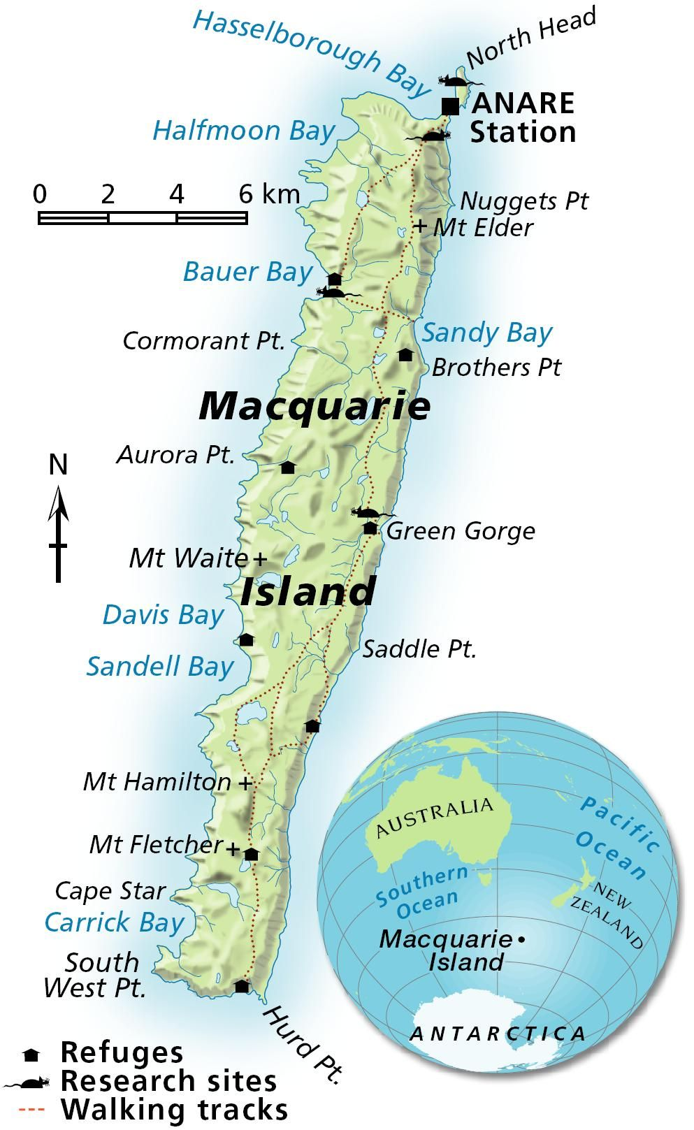 Macquarie Island Map Macquarie Island Map | Landon's Maps | Small island, Island  Macquarie Island Map