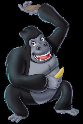 free png Gorilla Clipart images transparent