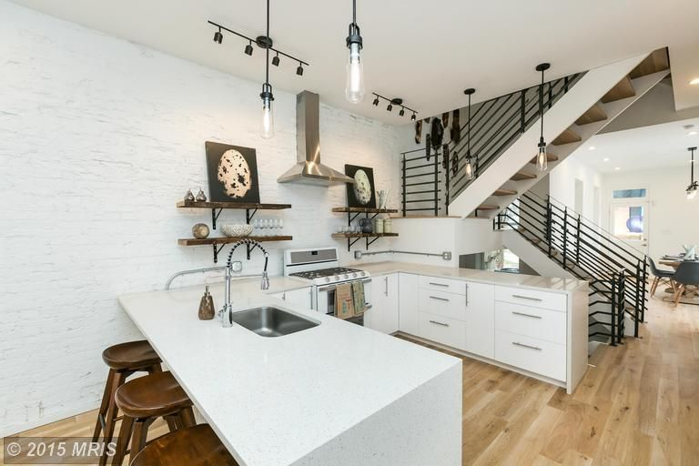 Find This Home On Realtor Com Kitchen With Stairs Modern Kitchen Home