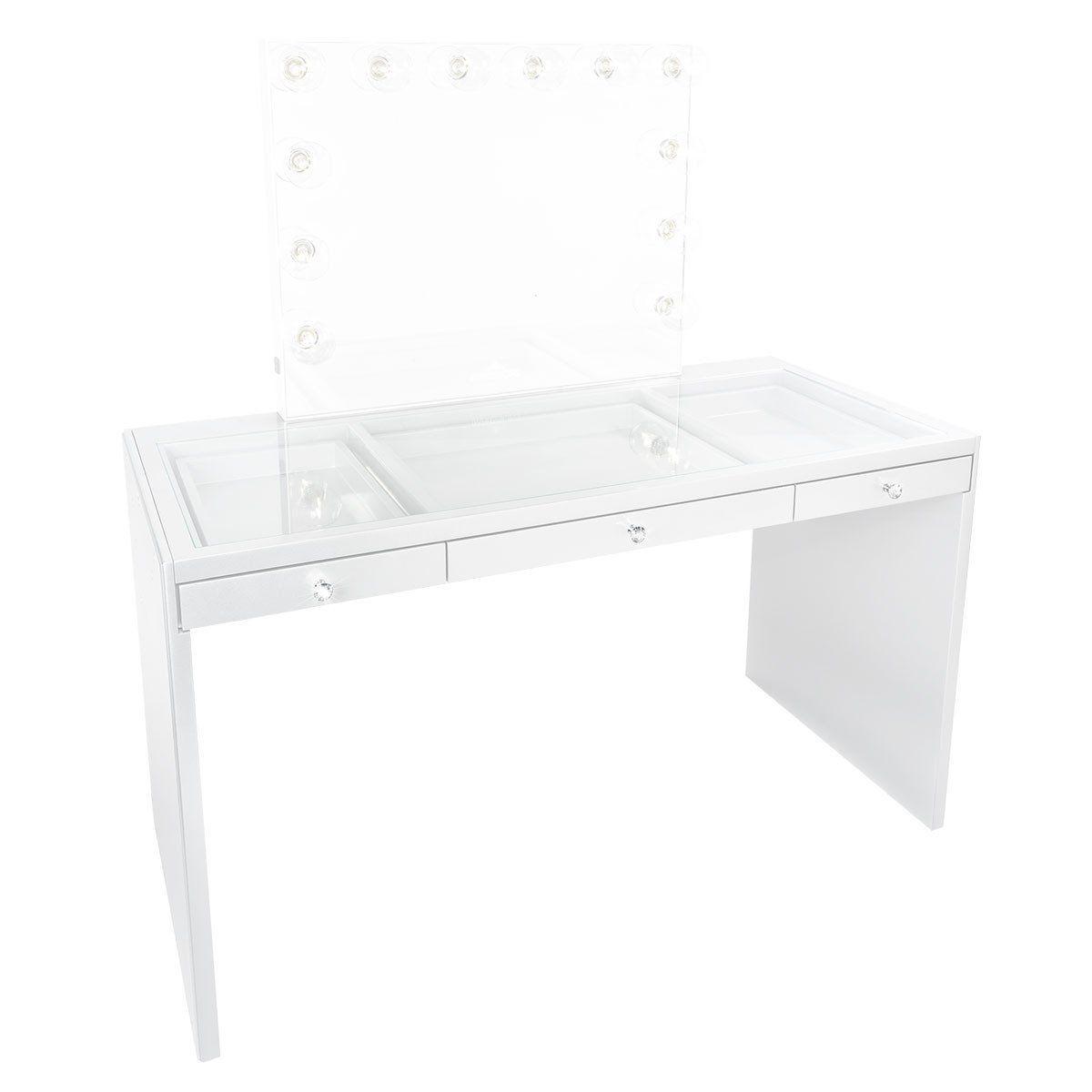 slaystation plus premium vanity table vanity table mirror