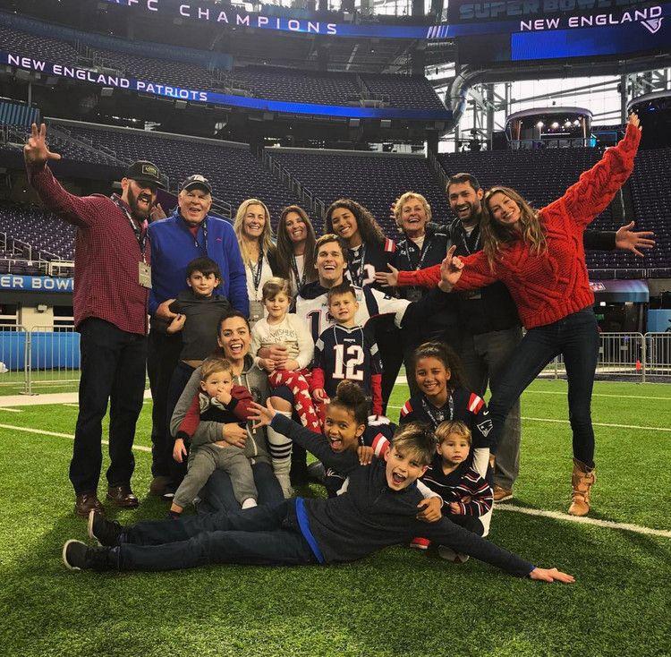 'Family and Football!' Tom Brady Shares Epic Family Photo
