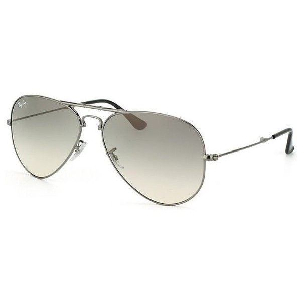 Ray-Ban Ray Ban RB3479 Foldable Aviator 004/32 Gunmetal Metal... ($224) ❤ liked on Polyvore featuring accessories, eyewear, sunglasses, vintage eyewear, hipster sunglasses, gunmetal sunglasses, folding aviator and folding aviator sunglasses
