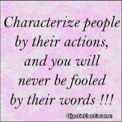 Characterized people