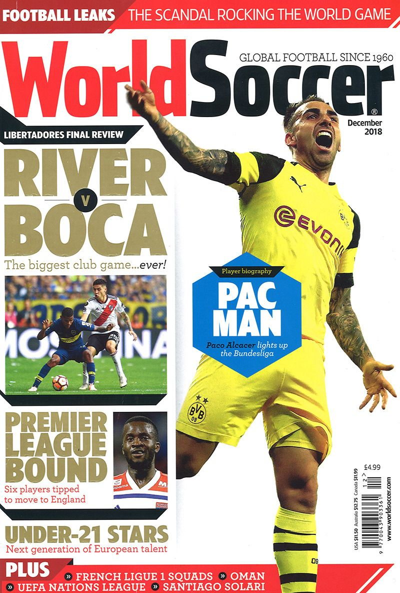 World Soccer December 2018 In 2020 Sports Magazine Moving To England Soccer