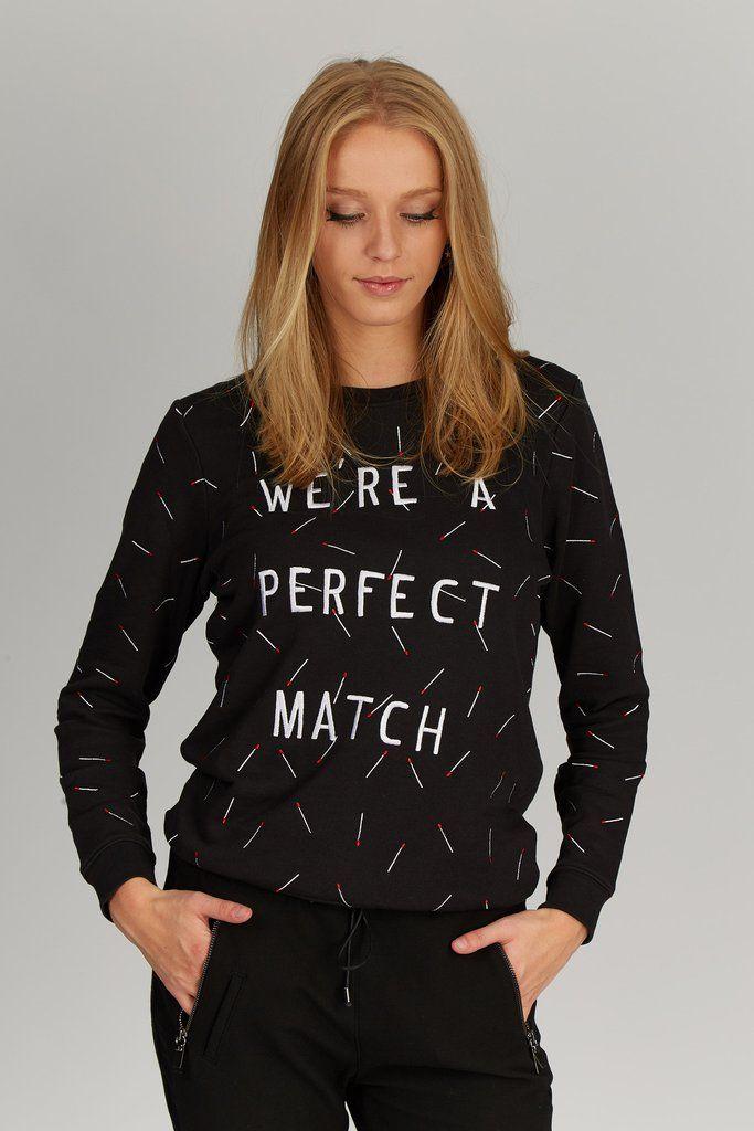 Sweater Zoe Karssen #zoekarssen #fw16 #wereaperfectmatch