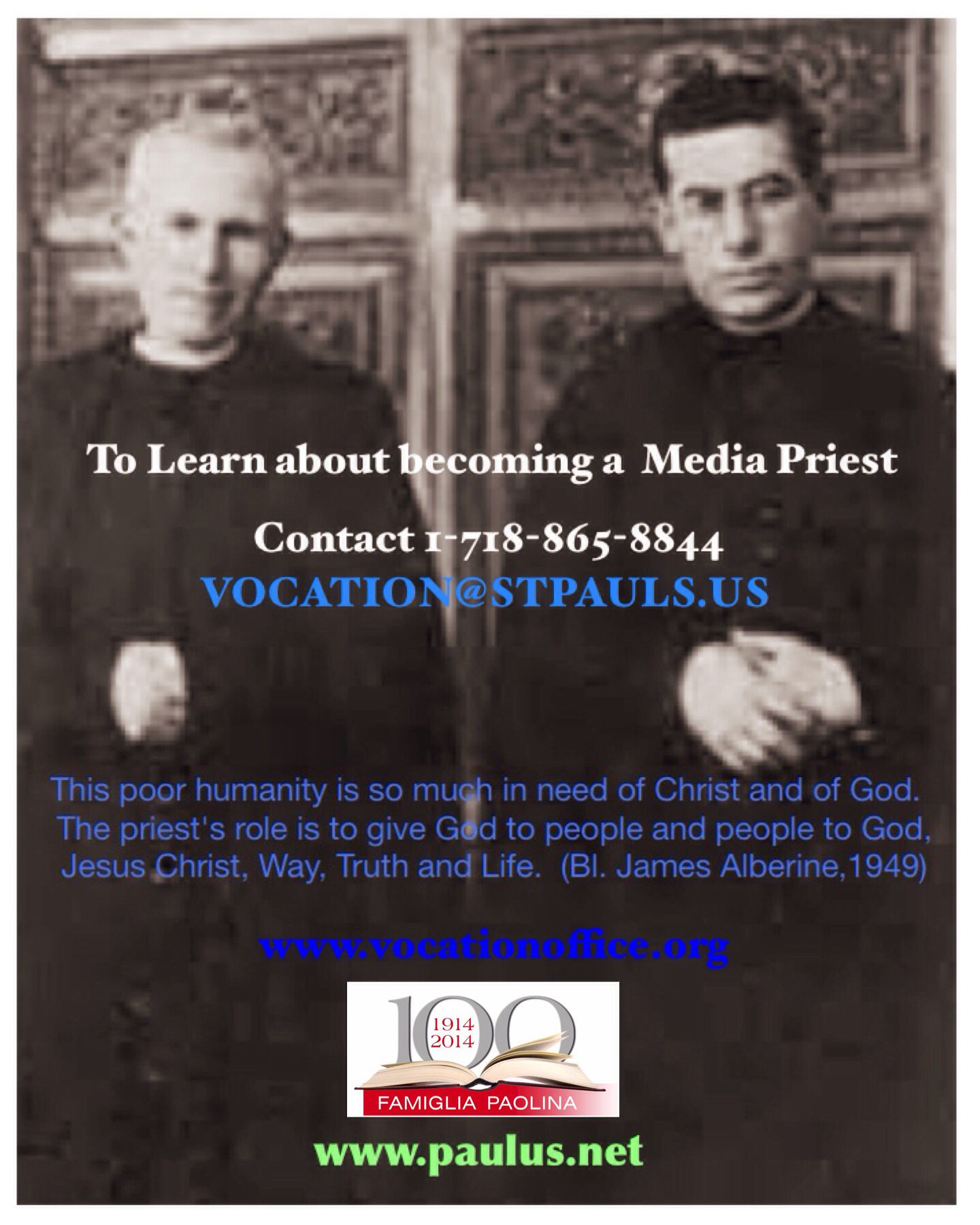 Great brothers...follow them! How to Truth, Priest