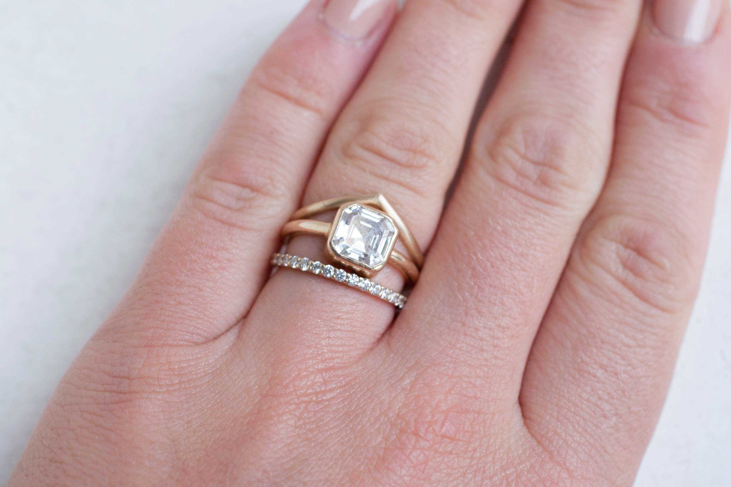 Contour Ring | Contour Wedding Band | 14k Recycled Gold | Contours ...