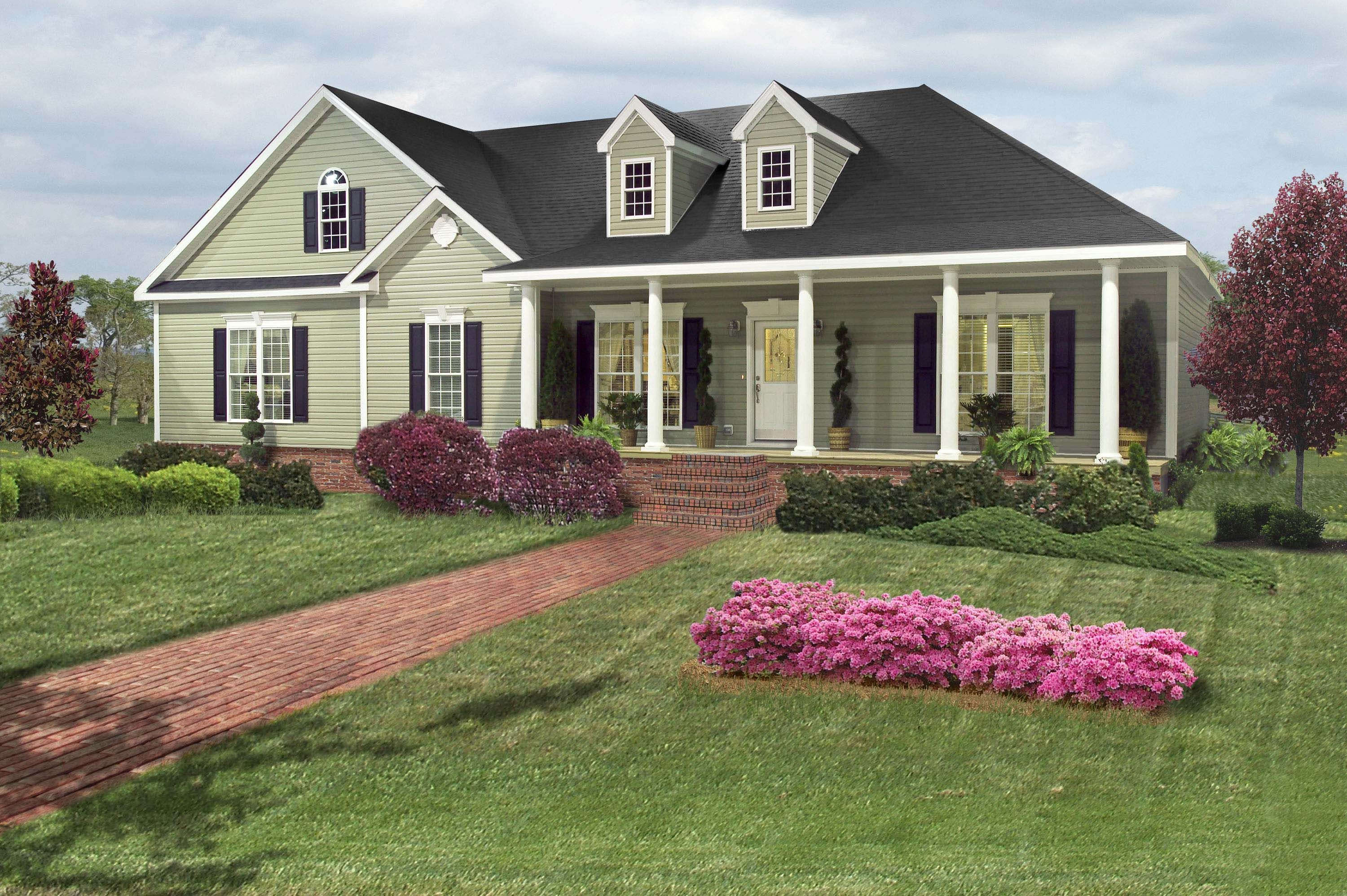 Beautiful ranch house plans house design plans for Beautiful ranch houses