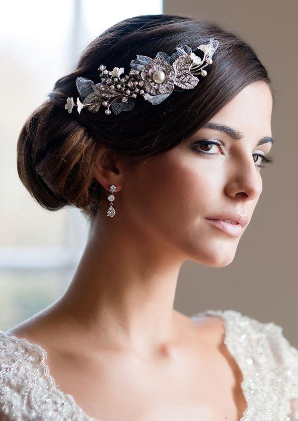jolis accessoires fleuris vintage wedding headpiecesvintage headpieceheadpiece