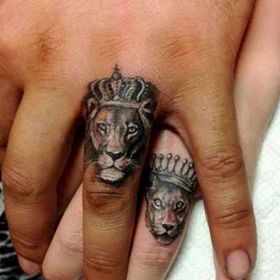 تاتو يد و قدم و جسم انواع الوشم و اجمل صور تاتو Tattoo Cute Couple Tattoos Lion Tattoo Couple Tattoos