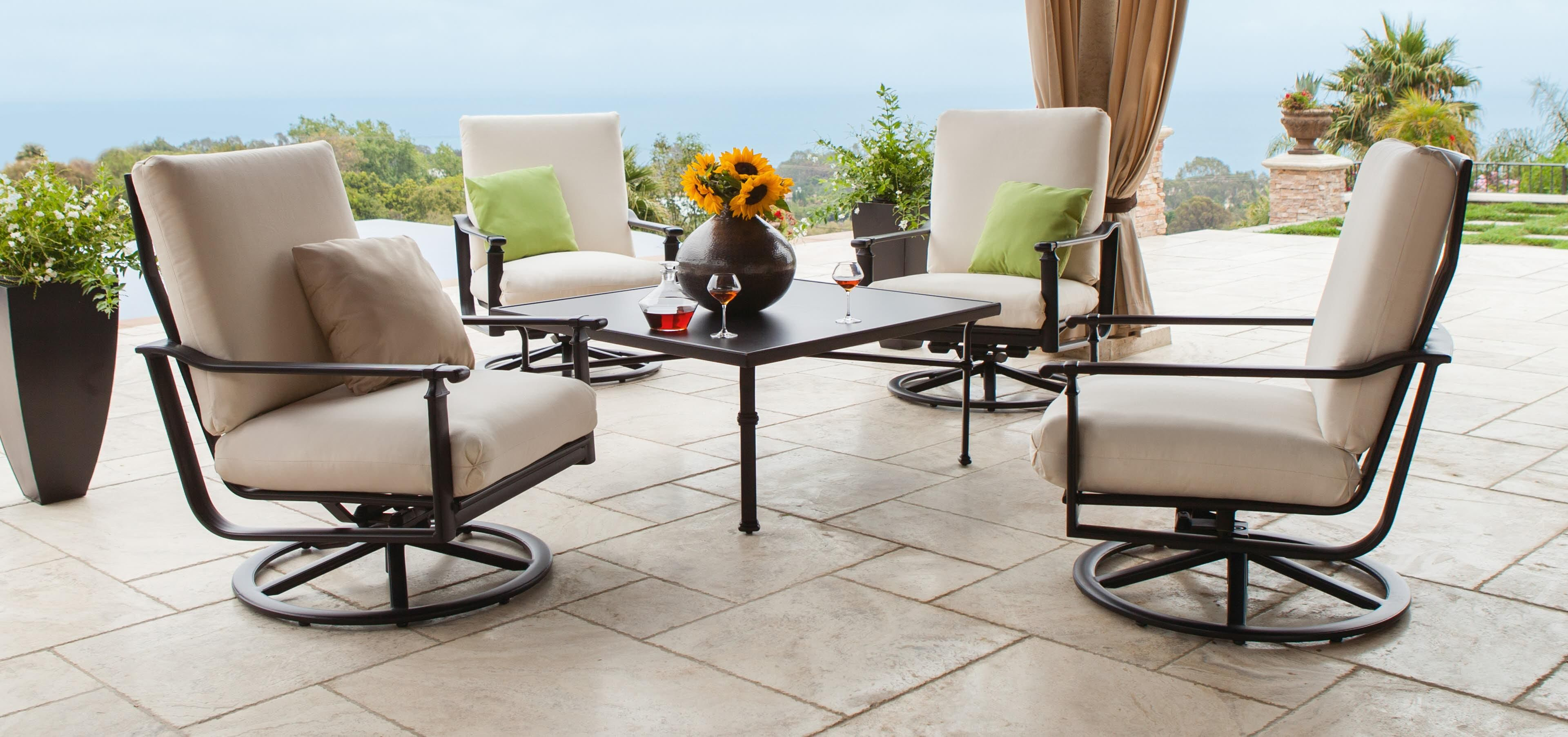 Fremont Cushion Collection | Outdoor Furniture | Brown ...