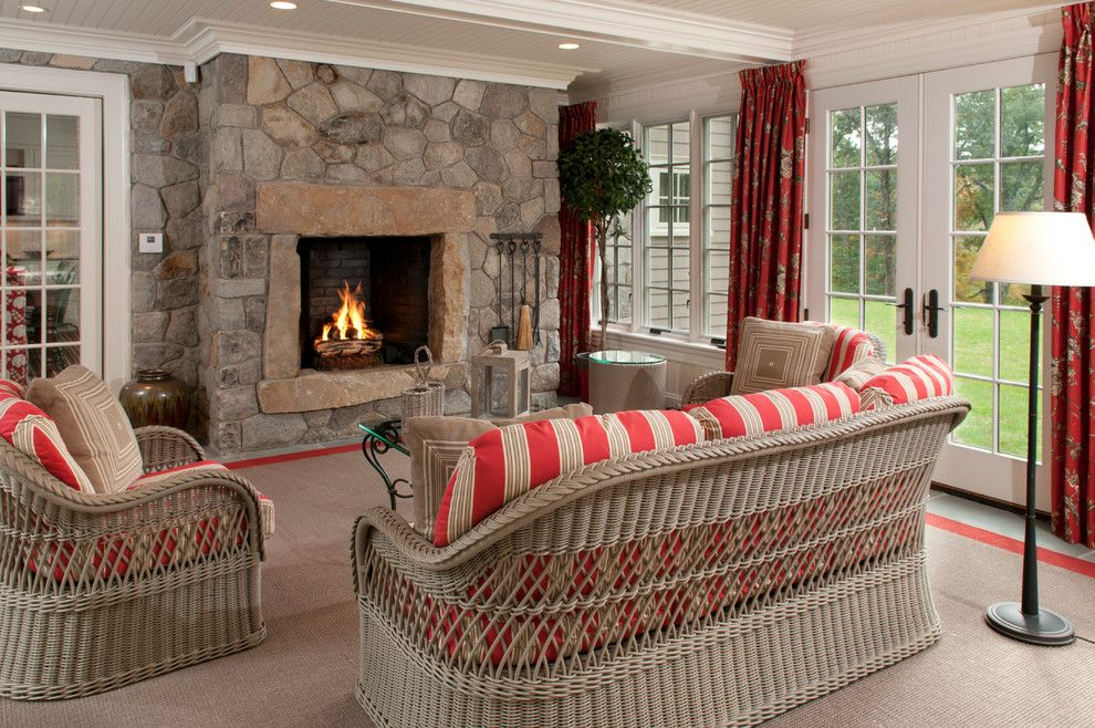 cheap wicker furniture porch traditional with covered on stunning backyard lighting design decor and remodel ideas sources to understand id=67634