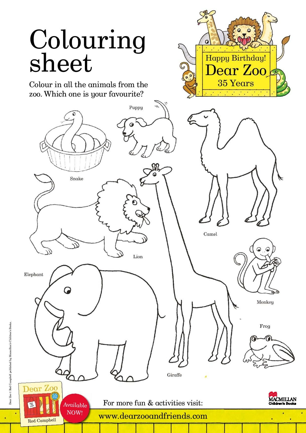 Classroom Activity Sheets