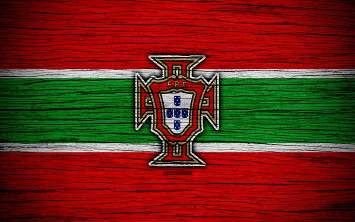 f37308811 Download wallpapers 4k, Portugal national football team, logo, UEFA,  Europe, football, wooden texture, soccer, Portugal, European national  football teams, ...