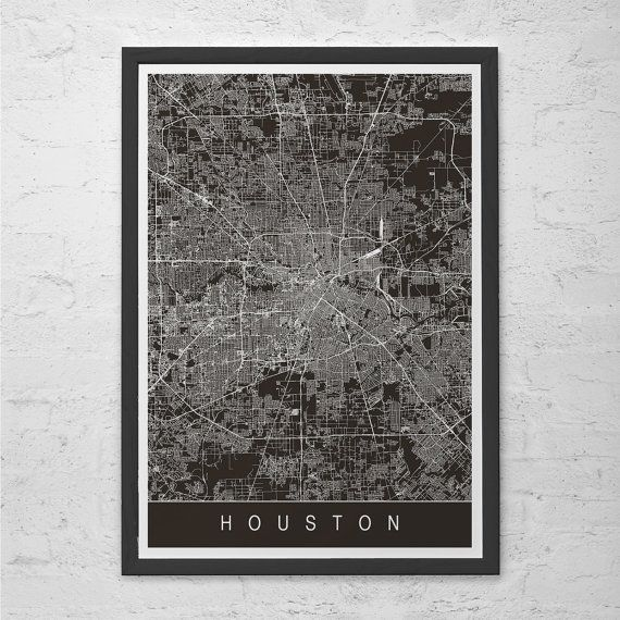 HD Decor Images » HOUSTON CITY MAP Art Print   Line Art City Map   Texas Texan usa     HOUSTON CITY MAP Art Print   Line Art City Map   Texas Texan usa Houston Map