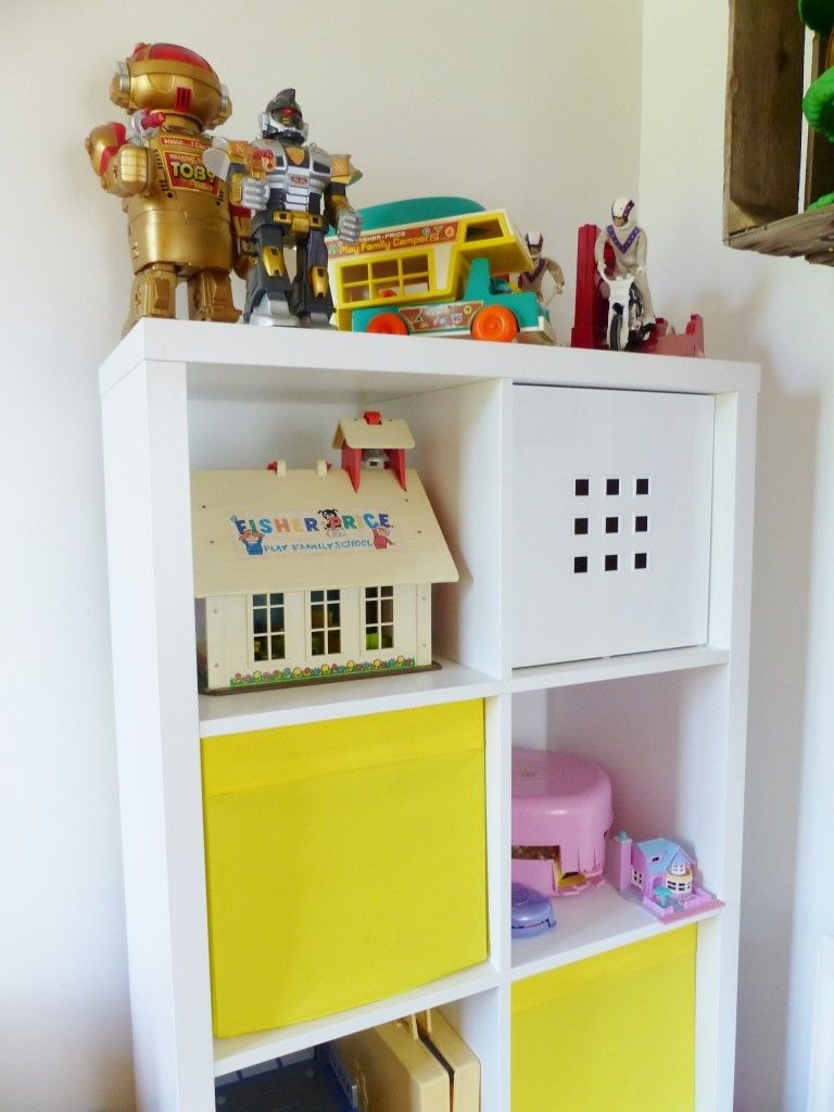 Images of vintage toys  A vintage childrenus room by Kate Beavis Ikea shelving and