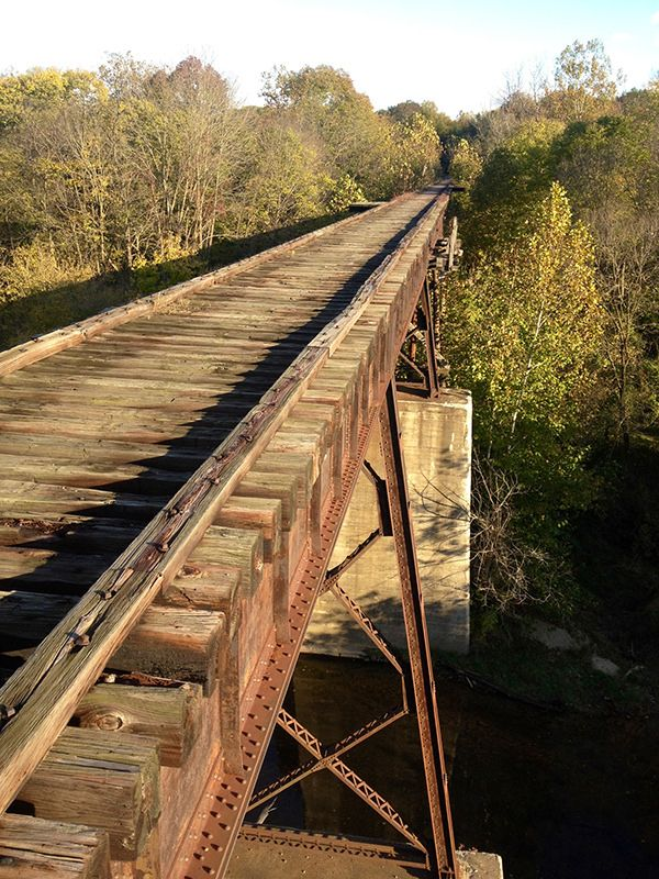 Monon High Bridge, Delphi | Escapades in 2019 | High bridge