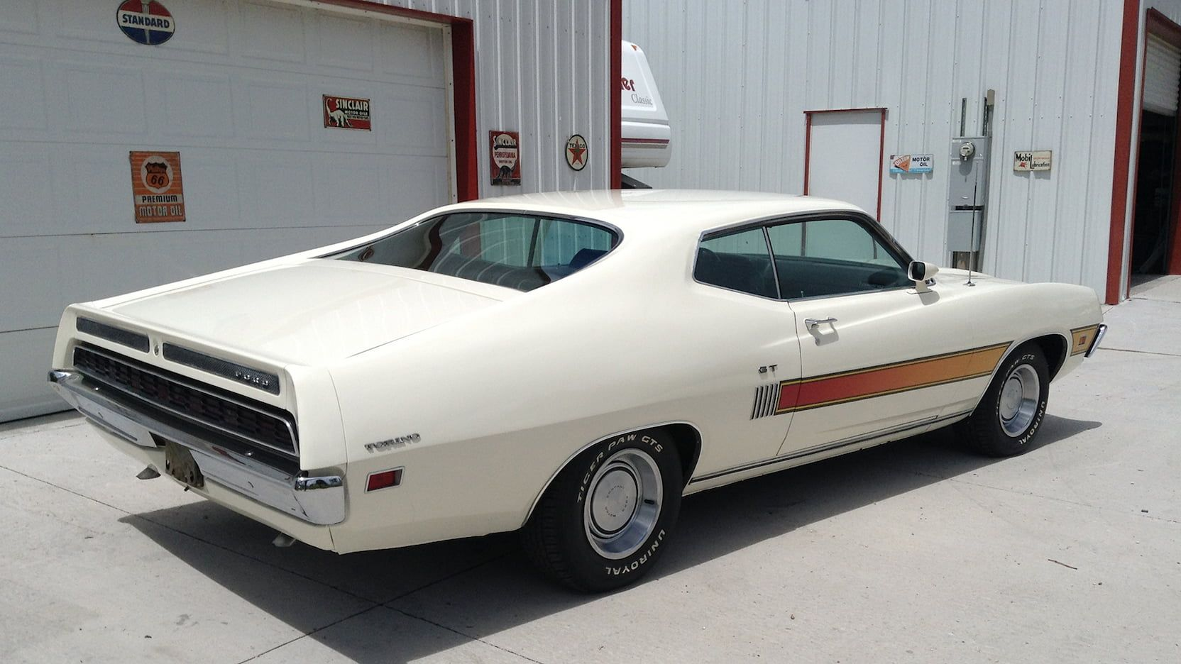 1970 Ford Torino Gt Fastback Presented As Lot F111 At Portland Or