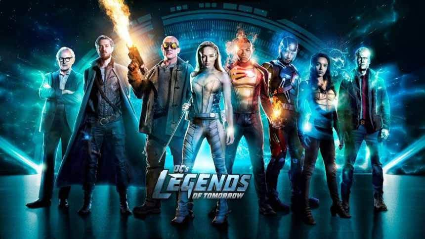 Legends Of Tomorrow 3x08 Crossover Crise Na Terra X Parte 4