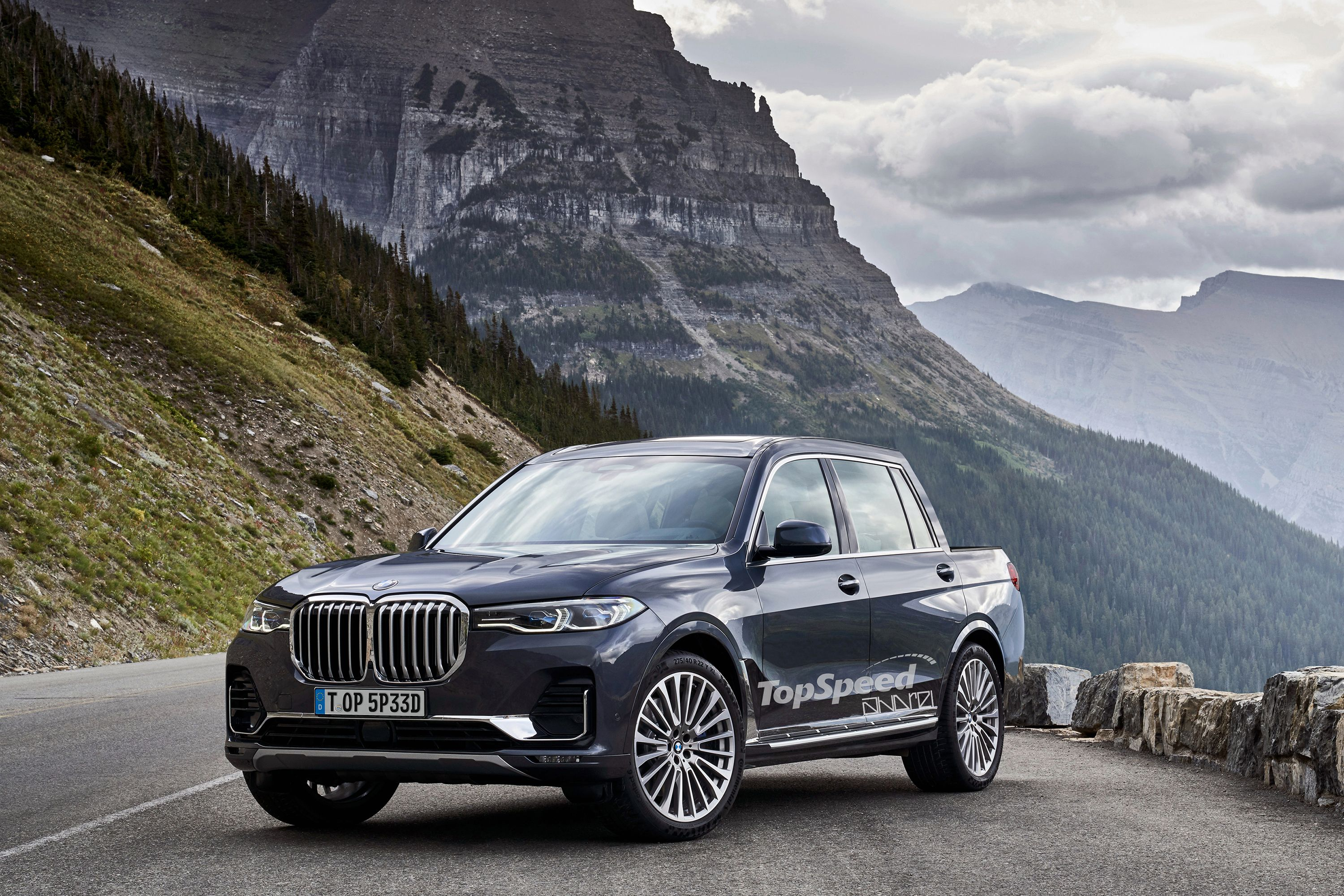 Bmw X7 Pickup Could Be Bmw S Answer To The Mercedes X Class Top Speed Bmw X7 Bmw X Models Bmw