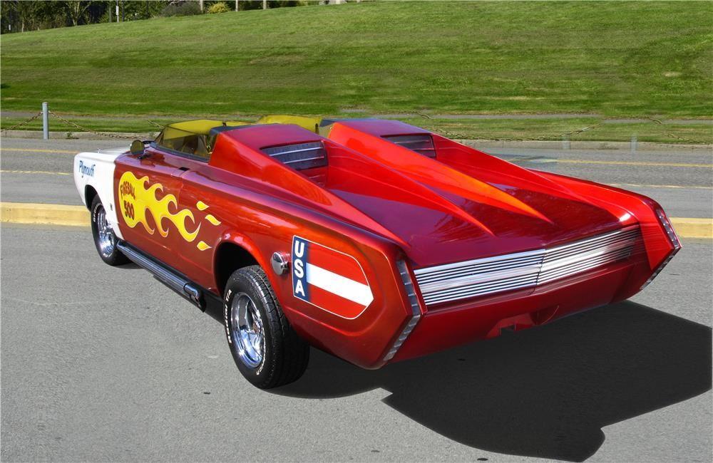 1965 Plymouth Barracuda Custom Fireball 500 Barrett Jackson