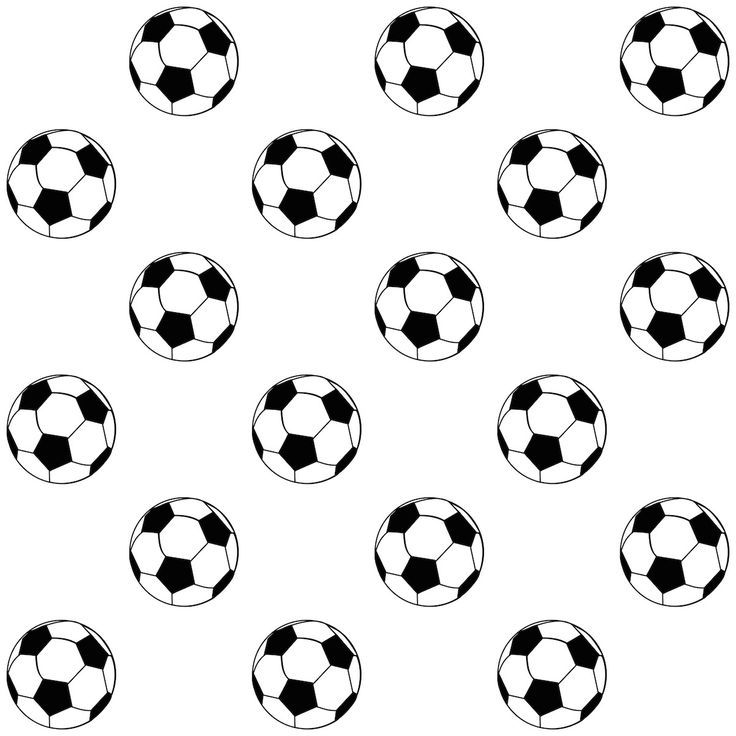 Free Printable Soccer Ball Pattern | Silhouette | Pinterest